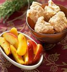 Safran-Äpfel mit Schweinsfilet